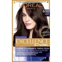 Excellence Crème - Crème colorante châtain profond 400