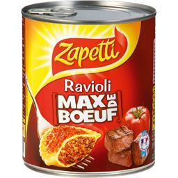 Ravioli Max de Bœuf