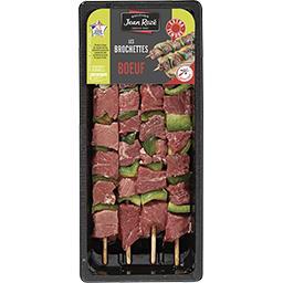 Brochettes de bœuf extra tendre
