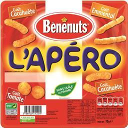 Assortiment de biscuits apéritif L'Apéro