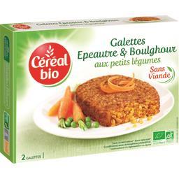 Bio Express - Galettes épeautre & boulghour/petits l...