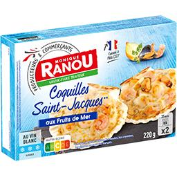 Coquilles Saint-Jacques recette aux fruits de mer