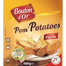 Pom'Potatoes aromatisation paprika