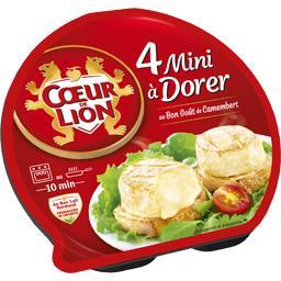 Mini à dorer goût camembert