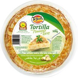 Te Gusta Tortilla pommes de terre nature halal le sachet de 500 gr