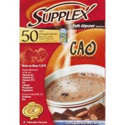 Cao, petit déjeuner diététique au cacao maigre