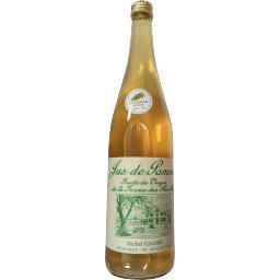 Ferme des ruelles Jus de pomme La bouteille de 75cl