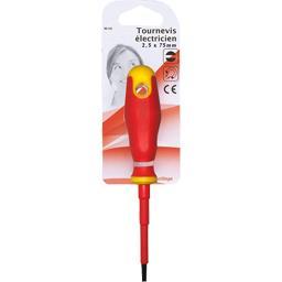 Tournevis électricien 2,5x75mm