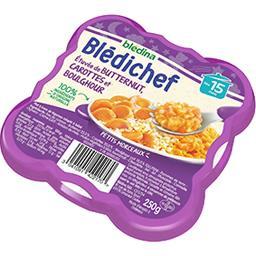 Blédina Blédina  - Etuvée de Butternut, carottes et boulgho... l'assiette de 230 g