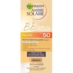 BB crème protectrice visage et décolleté FPS 50