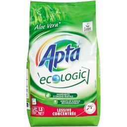 Lessive poudre concentrée ecolabel, parfum Aloe Vera