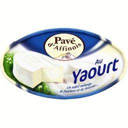 Au yaourt, fromage à pâte molle au lait de vache pasteurisé