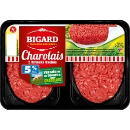 Biftecks hachés Charolais 5% MG