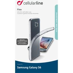 Coque silicone souple translucide pour Samsung Galaxy S6