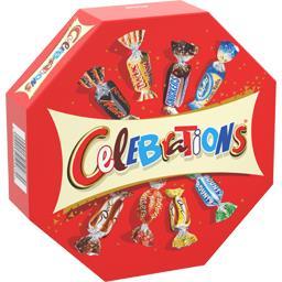 Célébrations Assortiment de chocolats au lait la boite de 385 g