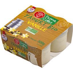 Yaourt BIO vanille
