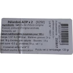 Sélectionné par votre magasin Pélardon AOP le paquet de 2 - 120 g