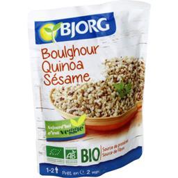 Boulghour quinoa sésame BIO
