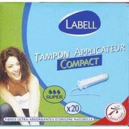 Tampon avec applicateur Super Compact