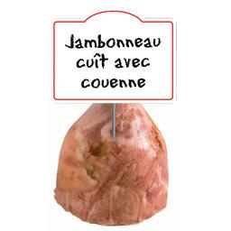 Jambonneau de porc AVEC COUENNE cuit SUPERIEUR