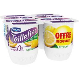 Danone Taillefine Yaourt citron 0% MG