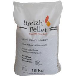 Granulés produits en Bretagne