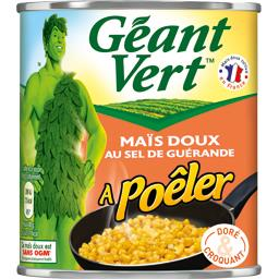 Maïs doux à poêler au sel de Guérande