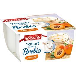 Yaourt brassé au lait de brebis abricot
