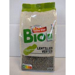 Saint Eloi Lentilles vertes BIO le sachet de 500 g