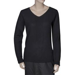 Pull cachemire noir taille XL