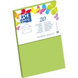 Enveloppe 9x14 120 g vert gommée patte pointue de vi...