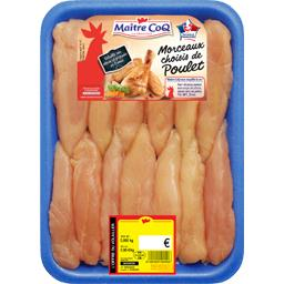 Aiguillettes de poulet blanc