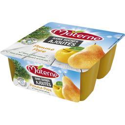 Sans Sucres Ajoutés - Spécialité de pomme poire