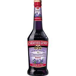 Crème de violette Dijon