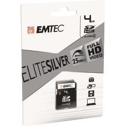 Carte mémoire SDHC 16GB class4 Elite Silver