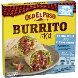 Kit pour Burritos sans piment extra doux