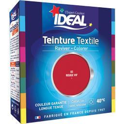 Teinture textile rouge vif 03 et fixateur