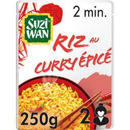 Riz au curry épicé