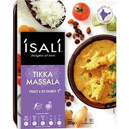 Poulet Tikka Massala et riz Basmati