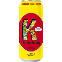 Bière aromatisée citron citron vert