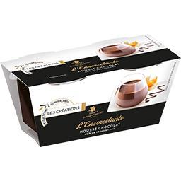 Mousse chocolat pur beurre de cacao