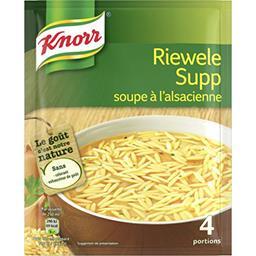 Riewele Supp soupe à l'alsacienne