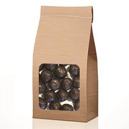 Bonbon de chocolat noir aux céréales soufflées en VRAC