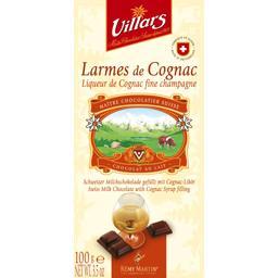 Chocolat au lait larmes de Cognac