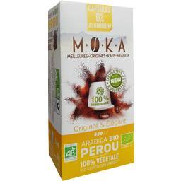 Capsules de café arabica Pérou BIO, original & éléga...