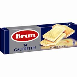 Gaufrettes fourrées goût vanille