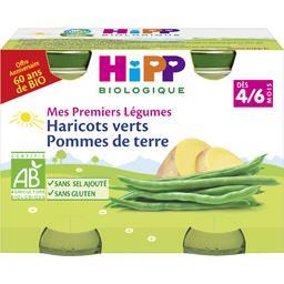 Mes Premiers Légumes - Haricots verts pommes de terre BIO, dès 4/6 mois