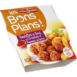Les Bons Plans - Boulettes de bœuf orientale pommes ...
