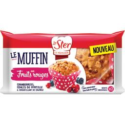 Le Muffin aux fruits rouges