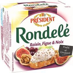 Rondelé Fromage raisin figue et noix